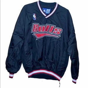 NBA Chicago Bulls Starter Pullover Jacket XL